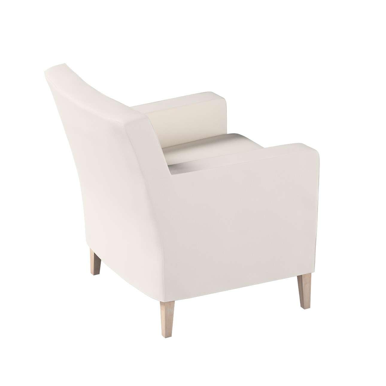 Pokrowiec na fotel Karlstad w kolekcji Etna, tkanina: 705-01