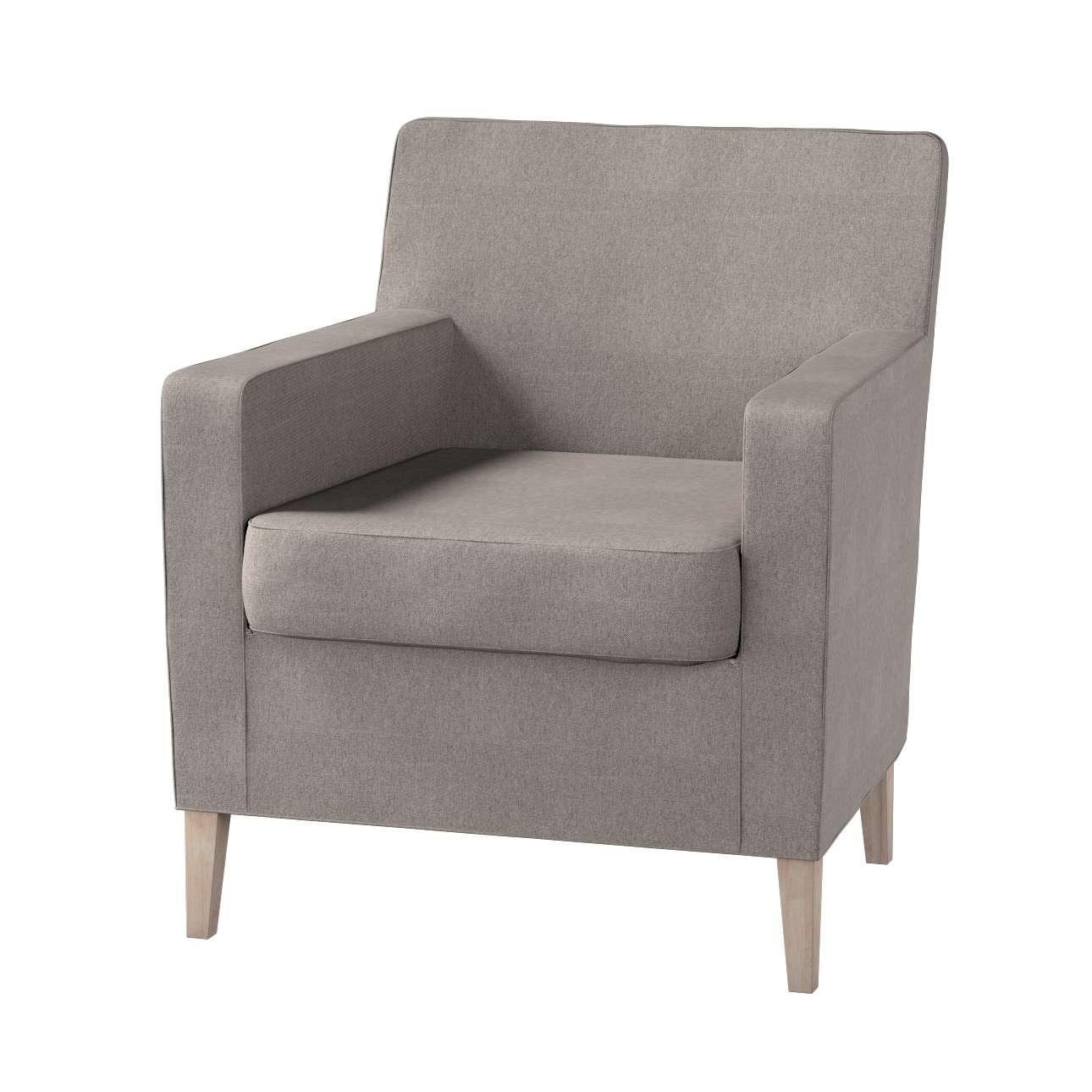 Karlstad fotelio-kėdės užvalkalas kolekcijoje Etna , audinys: 705-09
