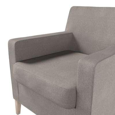 Pokrowiec na fotel Karlstad w kolekcji Etna, tkanina: 705-09