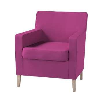 Karlstad fotelio-kėdės užvalkalas Karlstad fotelio - kėdės užvalkalas kolekcijoje Etna , audinys: 705-23
