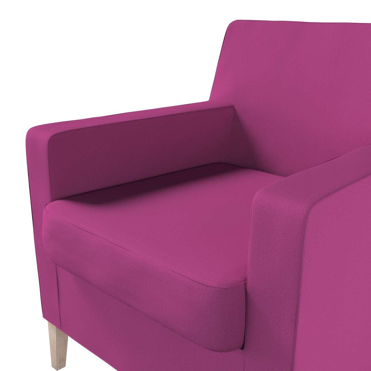 Pokrowiec na fotel Karlstad w kolekcji Etna, tkanina: 705-23