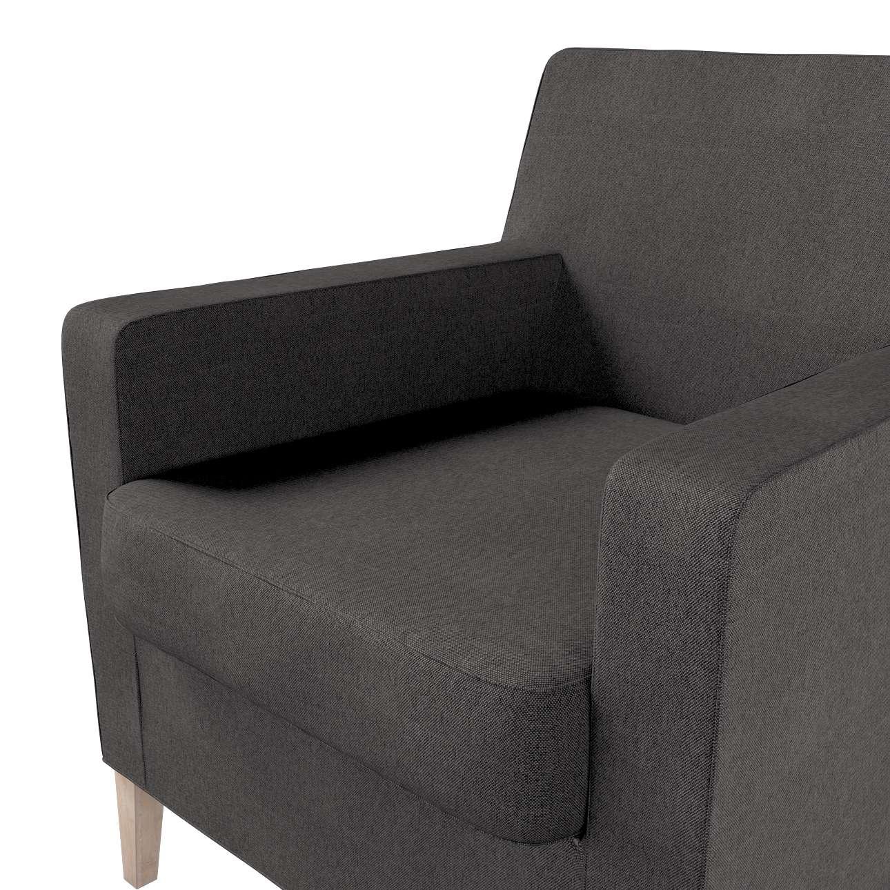 Pokrowiec na fotel Karlstad w kolekcji Etna, tkanina: 705-35