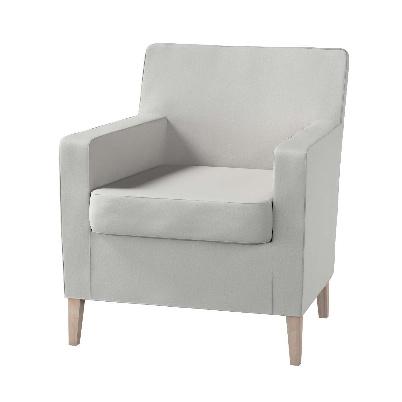 Karlstad tall chair cover Karlstad armchair cover in collection Etna, fabric: 705-90