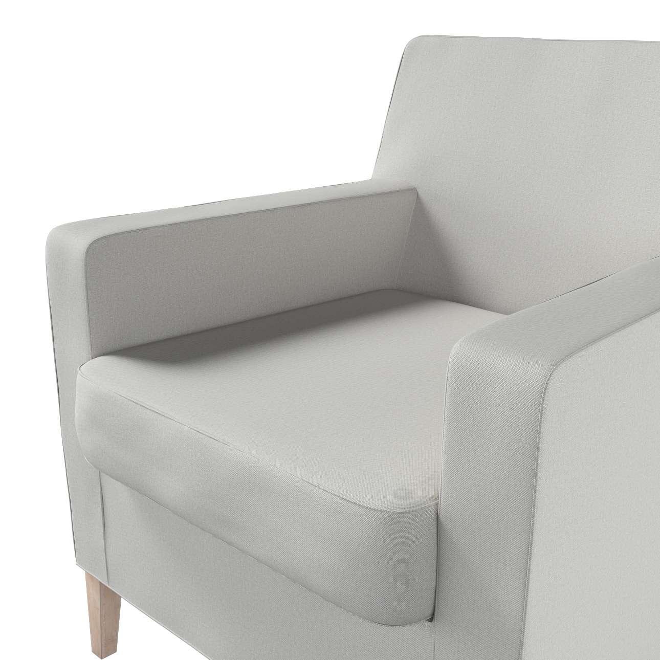 Pokrowiec na fotel Karlstad w kolekcji Etna, tkanina: 705-90