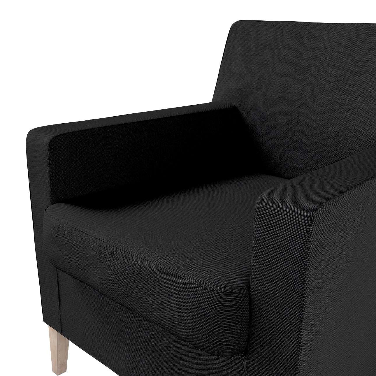 Pokrowiec na fotel Karlstad w kolekcji Etna, tkanina: 705-00