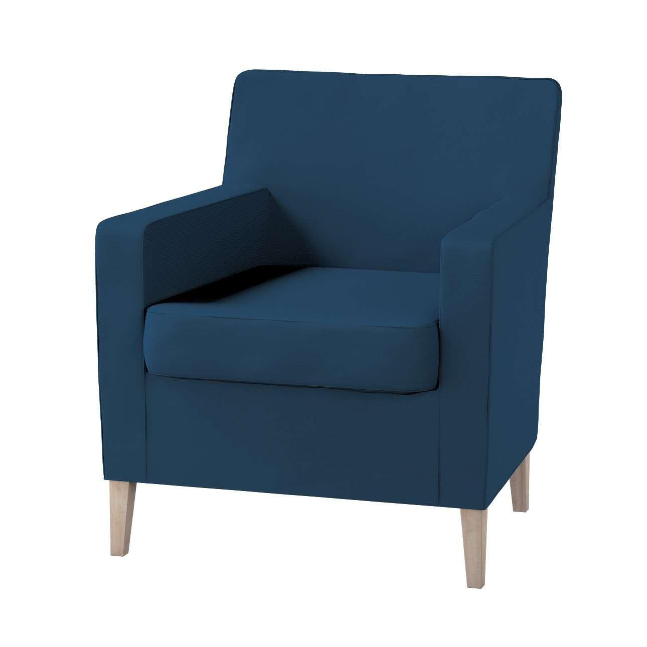 Pokrowiec na fotel Karlstad Fotel  Karlstad w kolekcji Cotton Panama, tkanina: 702-30