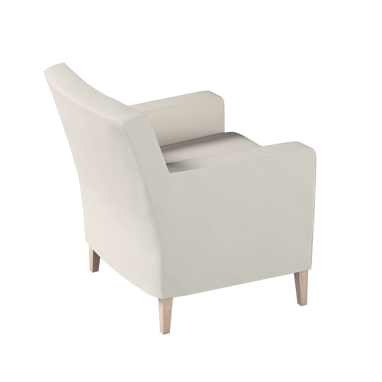Karlstad betræk lænestol, høj fra kollektionen Cotton Panama, Stof: 702-31