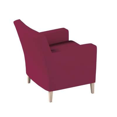 Pokrowiec na fotel Karlstad w kolekcji Cotton Panama, tkanina: 702-32