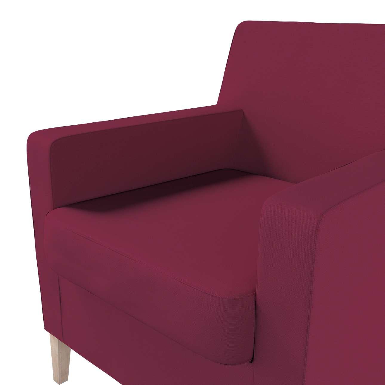 Potah na křeslo IKEA Karlstad v kolekci Cotton Panama, látka: 702-32