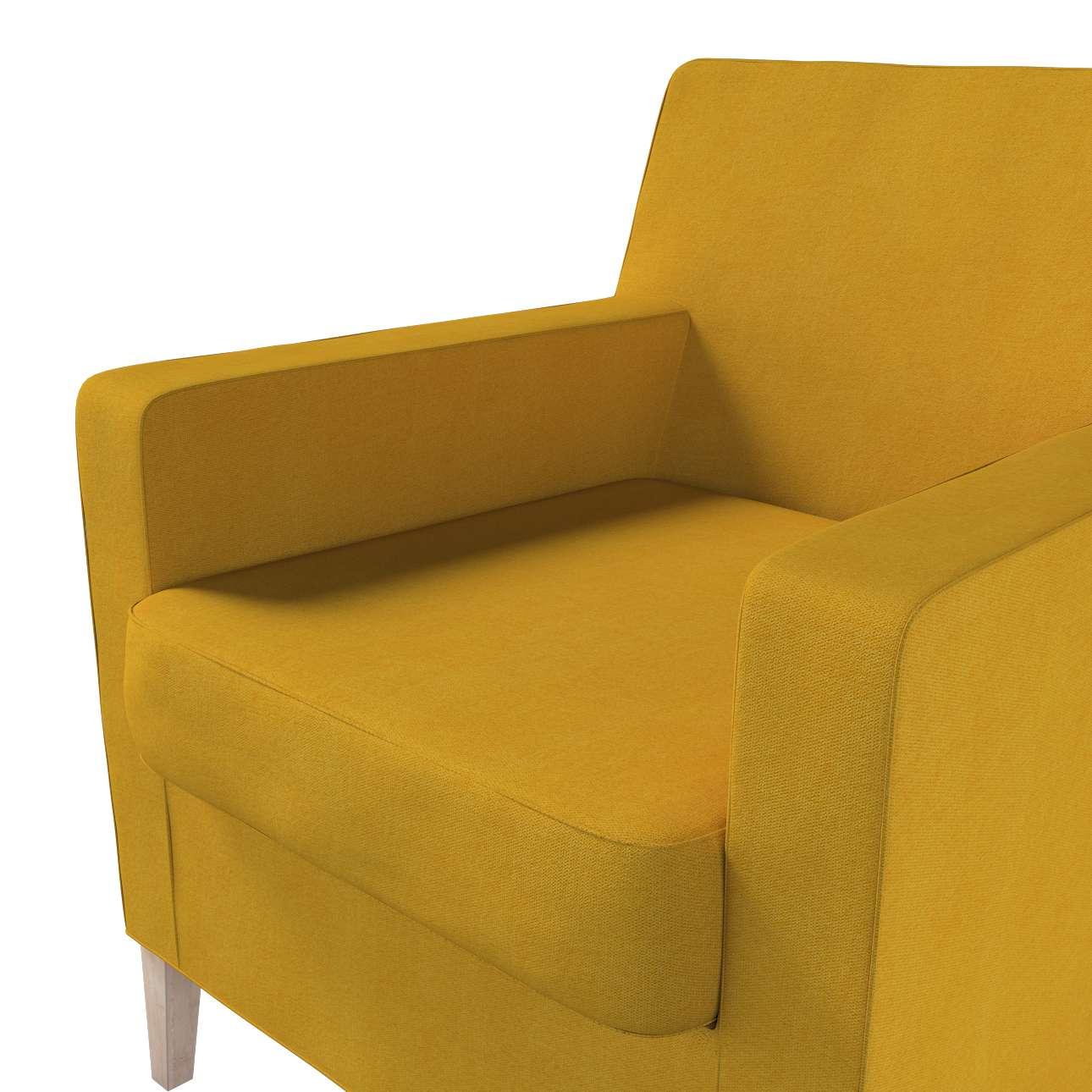 Pokrowiec na fotel Karlstad w kolekcji Etna, tkanina: 705-04