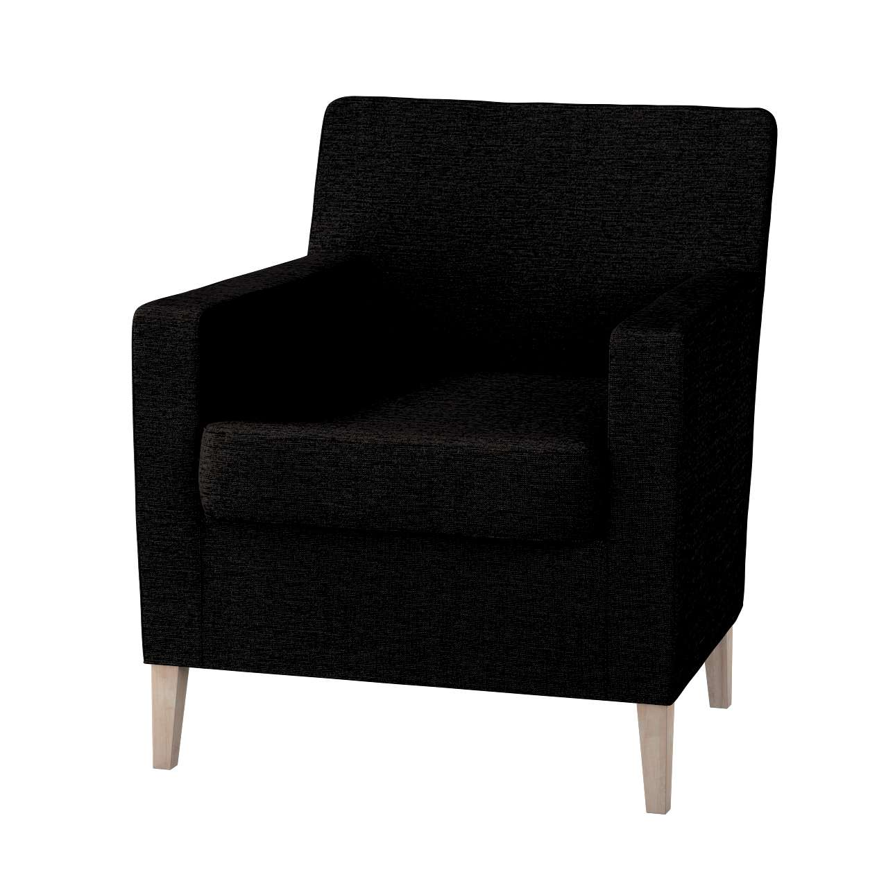 Karlstad tall chair cover Karlstad armchair cover in collection Madrid, fabric: 105-17