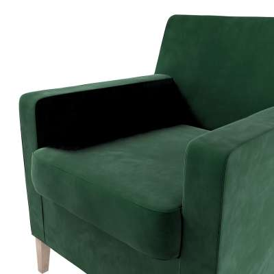 Karlstad nojatuoli, korkea mallistosta Velvet, Kangas: 704-13