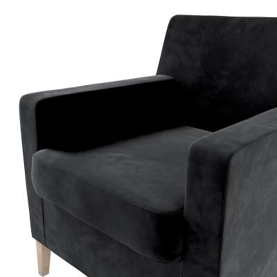 Karlstad nojatuoli, korkea mallistosta Velvet, Kangas: 704-17
