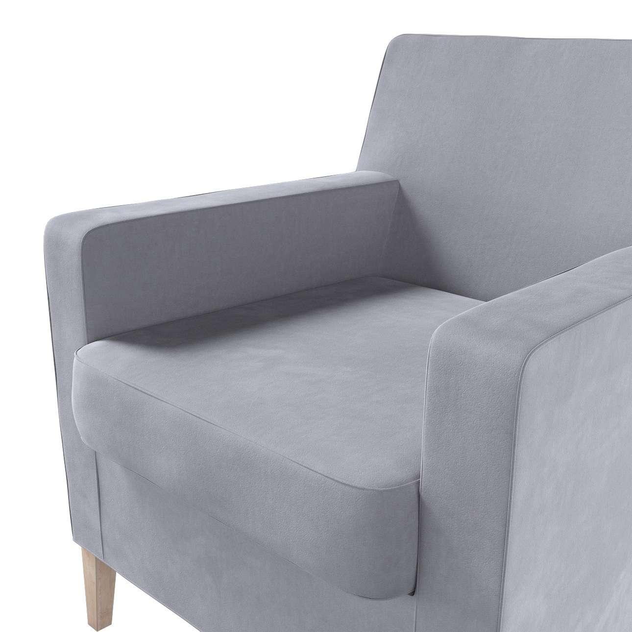 Karlstad nojatuoli, korkea mallistosta Velvet, Kangas: 704-24