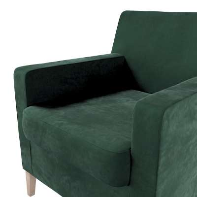 Karlstad nojatuoli, korkea mallistosta Velvet, Kangas: 704-25