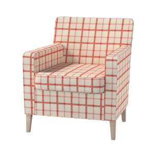 Pokrowiec na fotel Karlstad Fotel  Karlstad w kolekcji Avinon, tkanina: 131-15