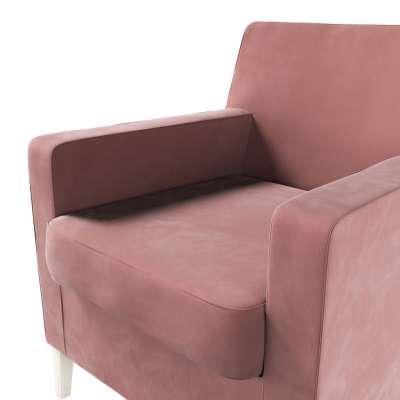 Karlstad nojatuoli, korkea mallistosta Velvet, Kangas: 704-30