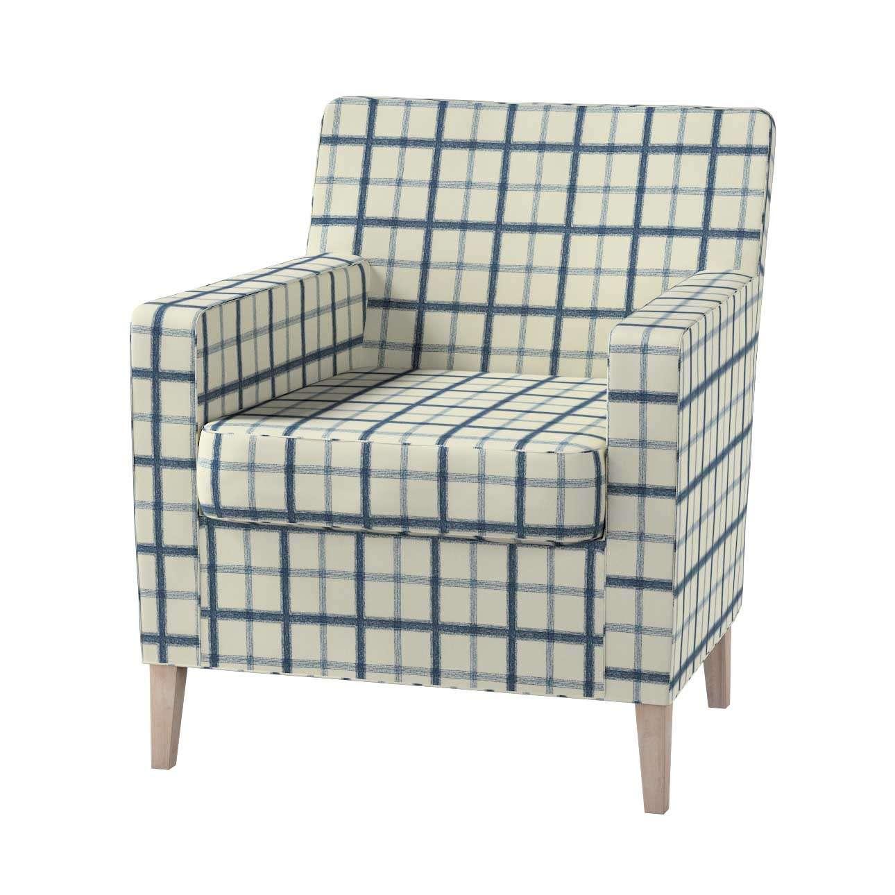 Karlstad fotelio-kėdės užvalkalas Karlstad fotelio - kėdės užvalkalas kolekcijoje Avinon, audinys: 131-66
