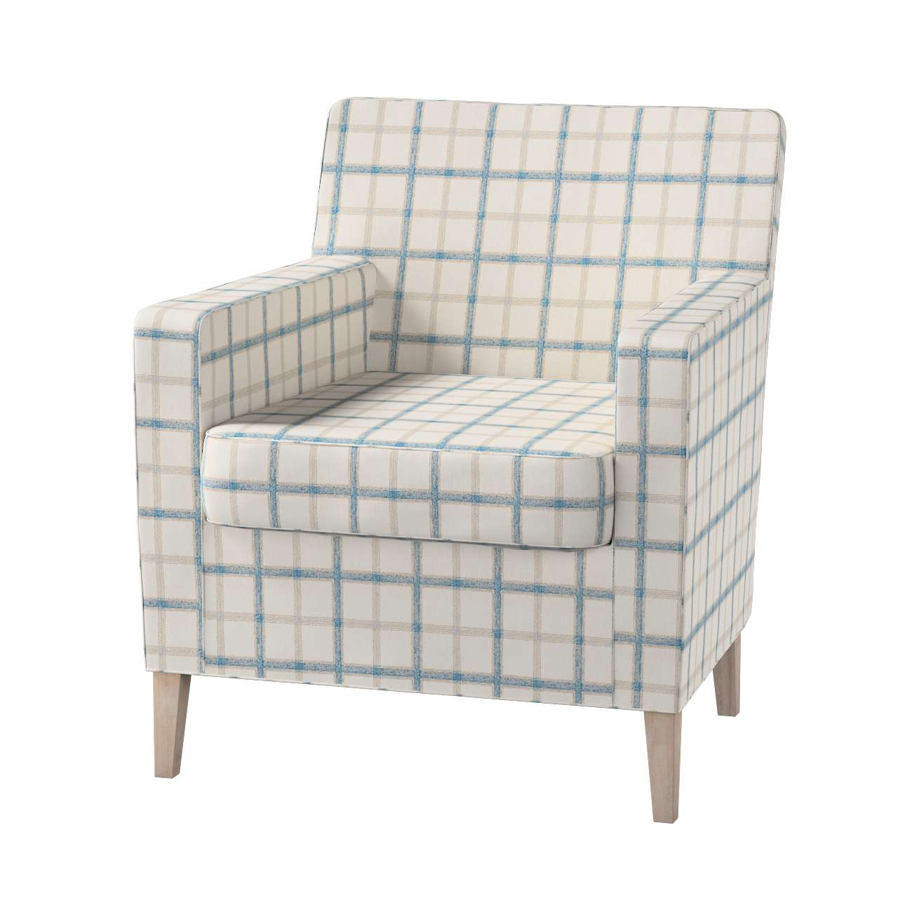 Pokrowiec na fotel Karlstad Fotel  Karlstad w kolekcji Avinon, tkanina: 131-66