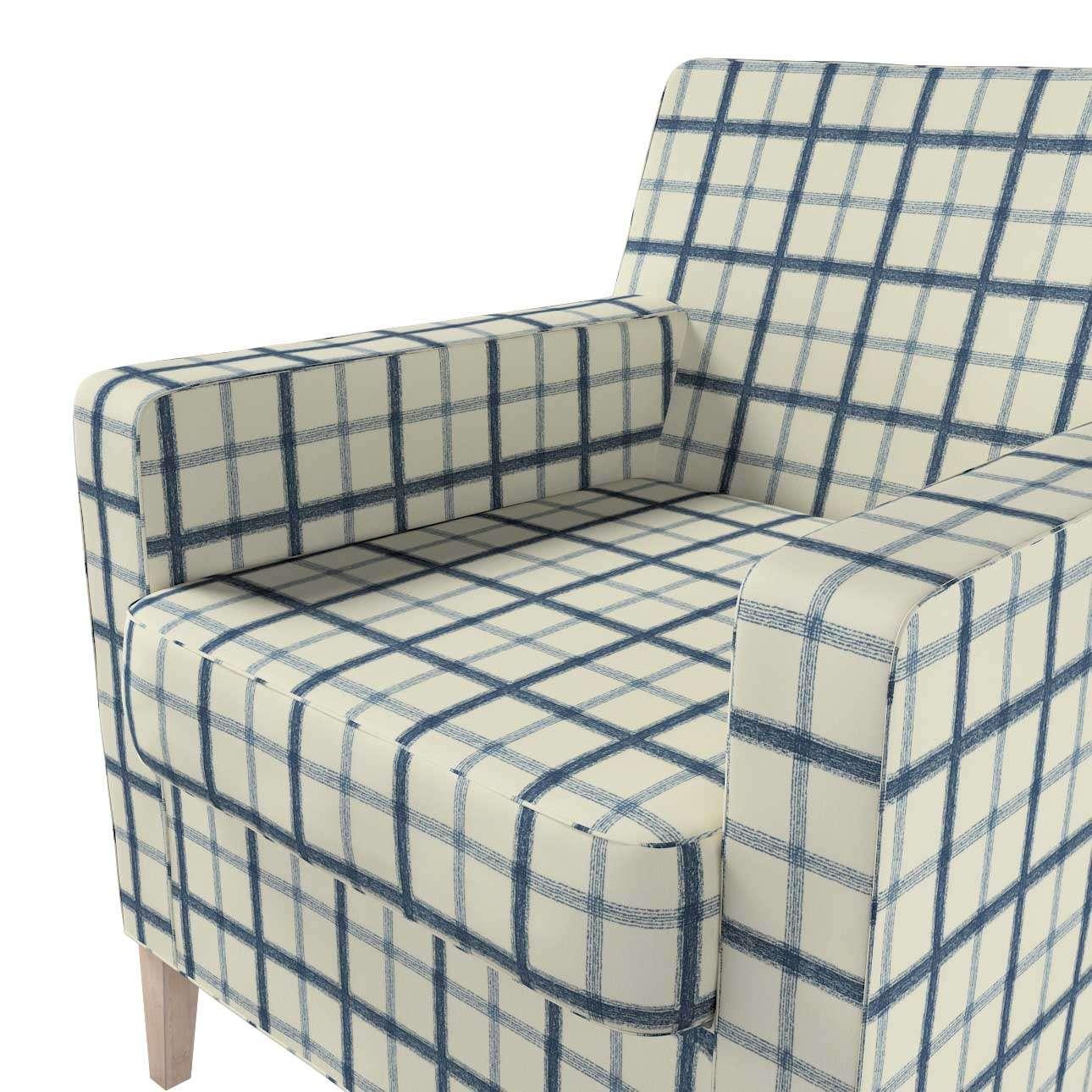 Karlstad nojatuoli, korkea mallistosta Avinon, Kangas: 131-66