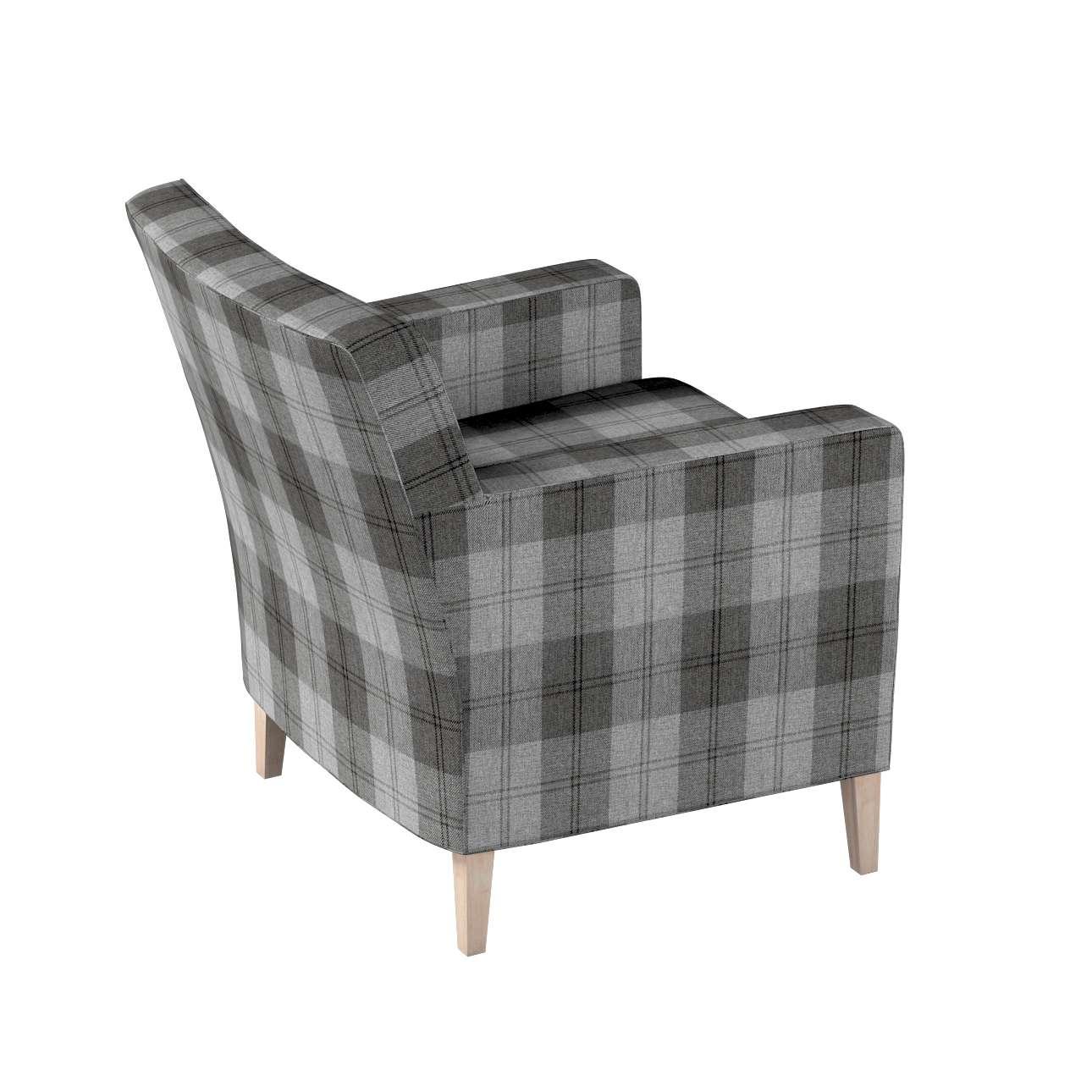 Pokrowiec na fotel Karlstad w kolekcji Edinburgh, tkanina: 115-75