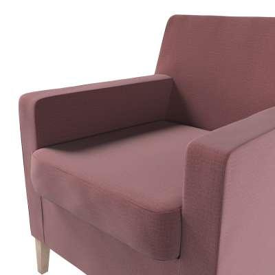 Pokrowiec na fotel Karlstad w kolekcji Ingrid, tkanina: 705-38