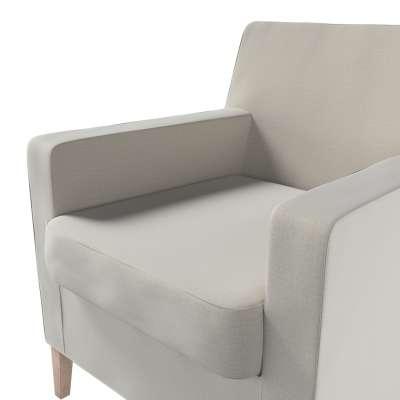 Pokrowiec na fotel Karlstad w kolekcji Ingrid, tkanina: 705-40