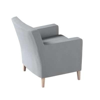 Pokrowiec na fotel Karlstad w kolekcji Ingrid, tkanina: 705-42
