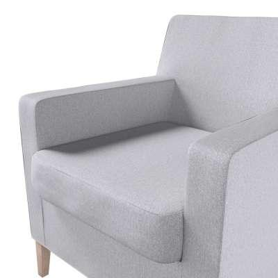 Pokrowiec na fotel Karlstad w kolekcji Amsterdam, tkanina: 704-45