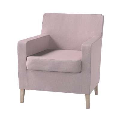 Pokrowiec na fotel Karlstad w kolekcji Amsterdam, tkanina: 704-51