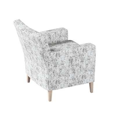 Pokrowiec na fotel Karlstad w kolekcji Velvet, tkanina: 704-49