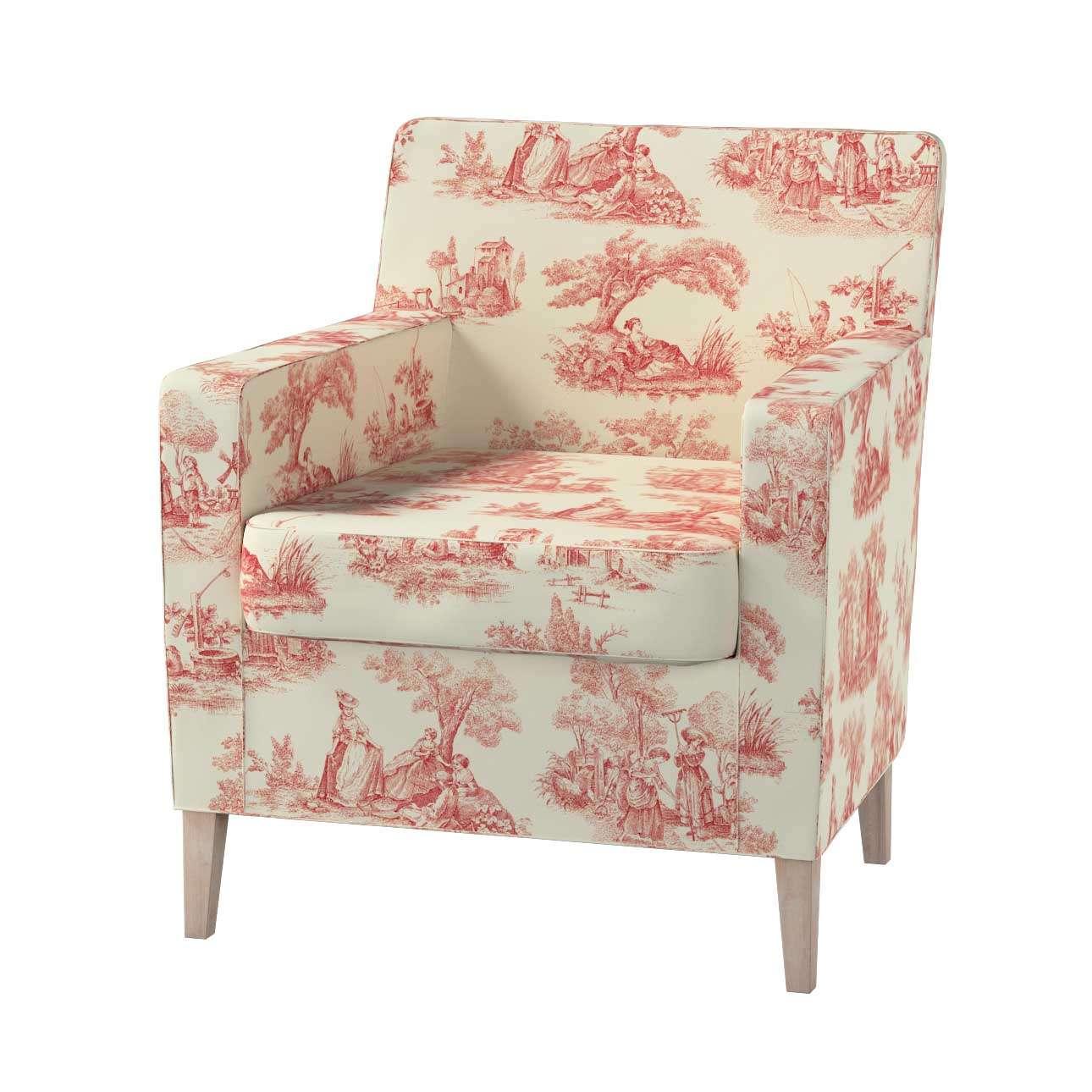 Pokrowiec na fotel Karlstad Fotel  Karlstad w kolekcji Avinon, tkanina: 132-15