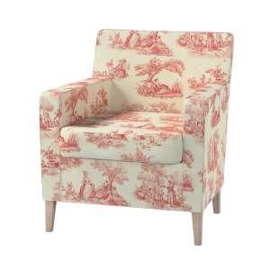 Karlstad fotelio-kėdės užvalkalas Karlstad fotelio - kėdės užvalkalas kolekcijoje Avinon, audinys: 132-15