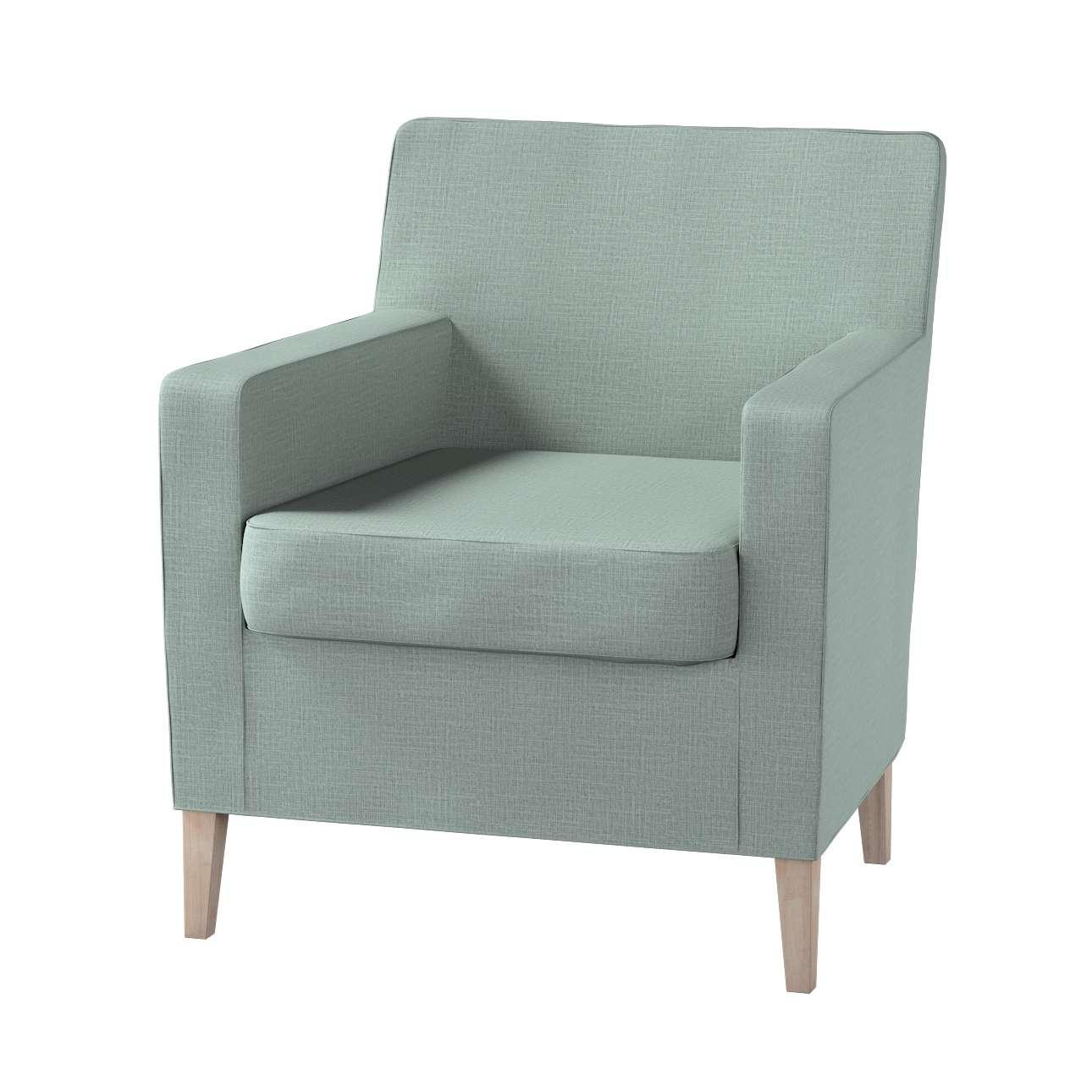 Pokrowiec na fotel Karlstad w kolekcji Living II, tkanina: 160-86