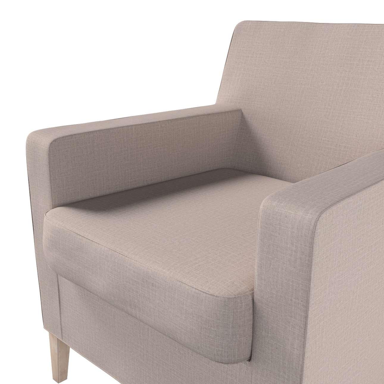 Pokrowiec na fotel Karlstad w kolekcji Living II, tkanina: 160-85