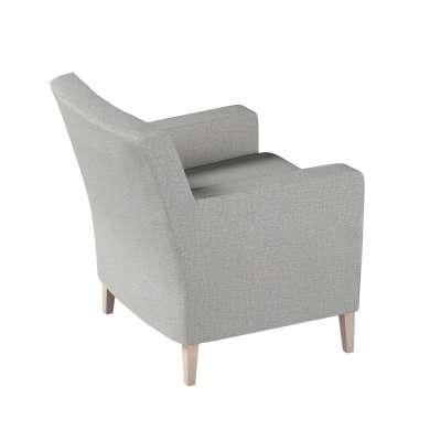 Pokrowiec na fotel Karlstad w kolekcji Living II, tkanina: 160-89