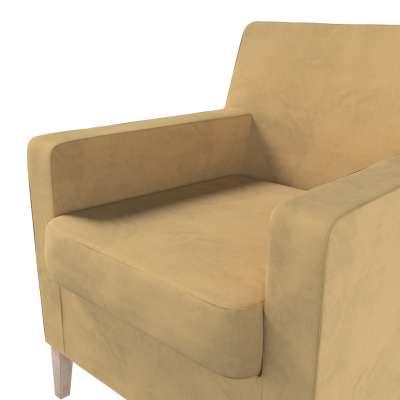 Pokrowiec na fotel Karlstad w kolekcji Living, tkanina: 160-93