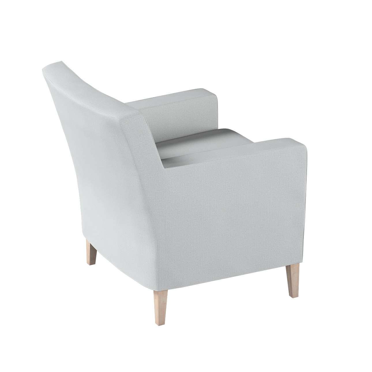 Pokrowiec na fotel Karlstad w kolekcji Living, tkanina: 161-18