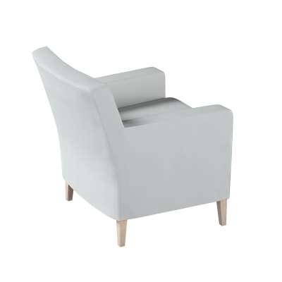 Karlstad betræk lænestol, høj 161-18 Lysegrå Kollektion Living 2