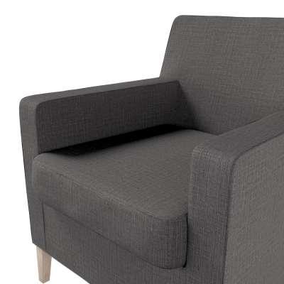 Pokrowiec na fotel Karlstad w kolekcji Living II, tkanina: 161-16