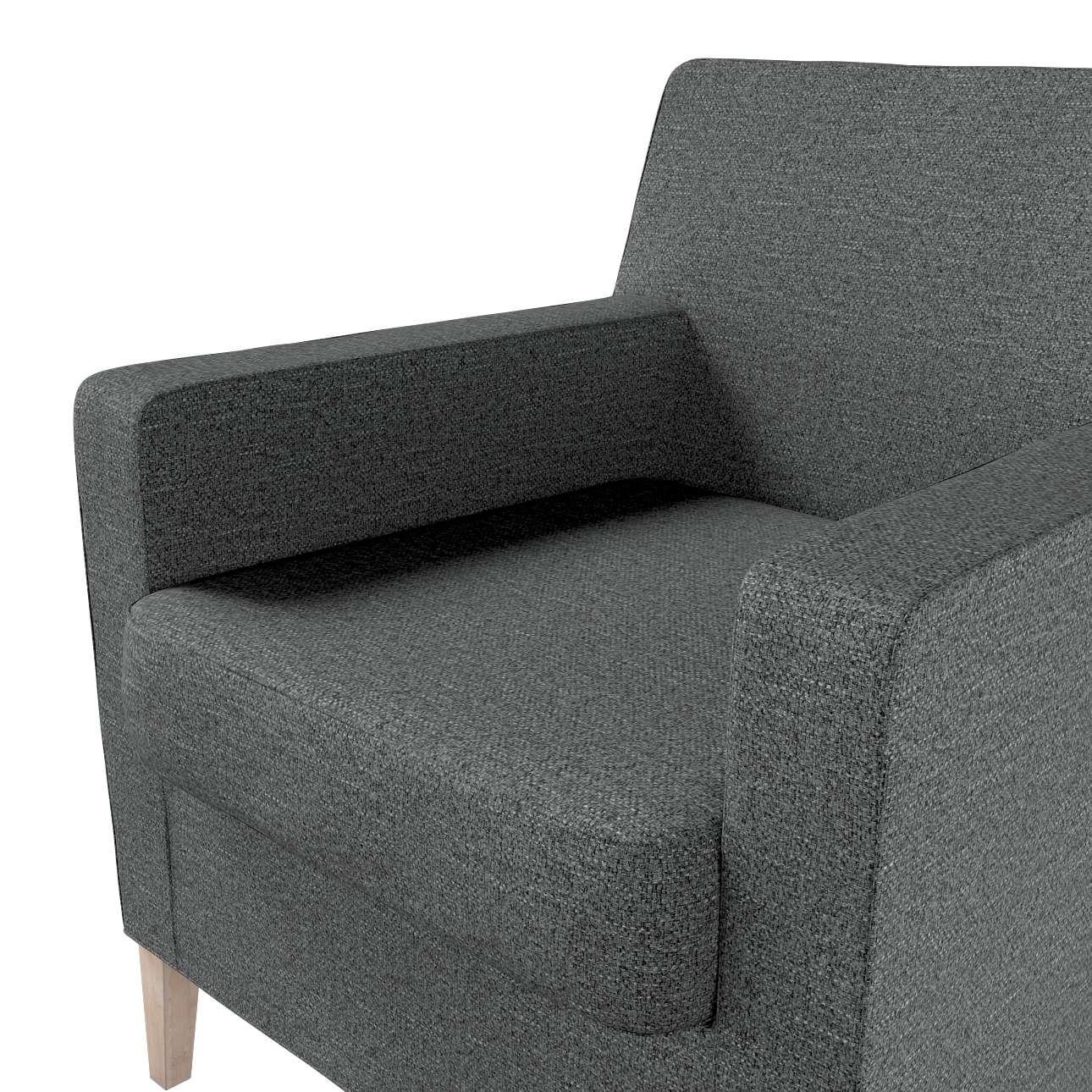 Pokrowiec na fotel Karlstad w kolekcji Madrid, tkanina: 161-24