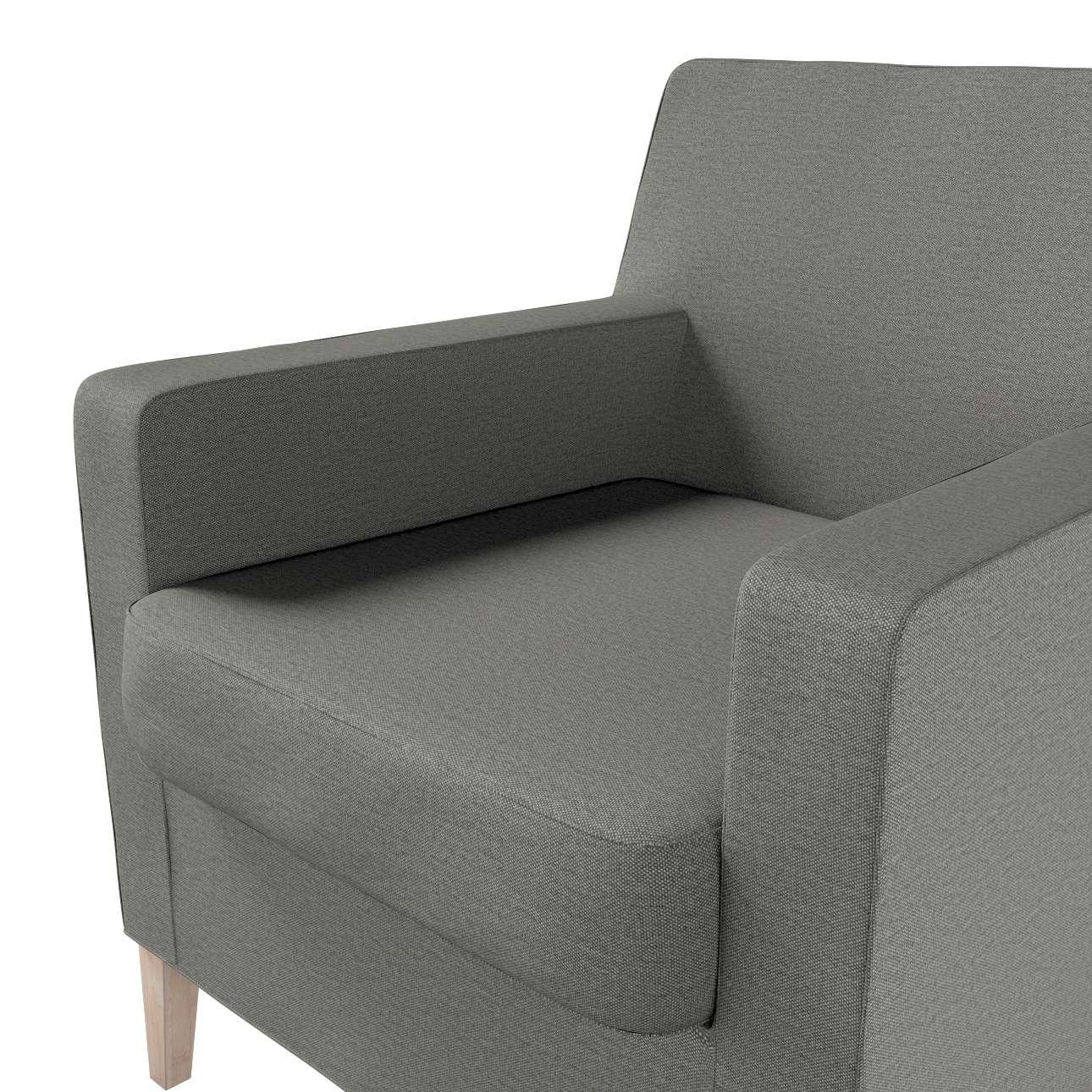 Pokrowiec na fotel Karlstad w kolekcji Etna, tkanina: 161-25