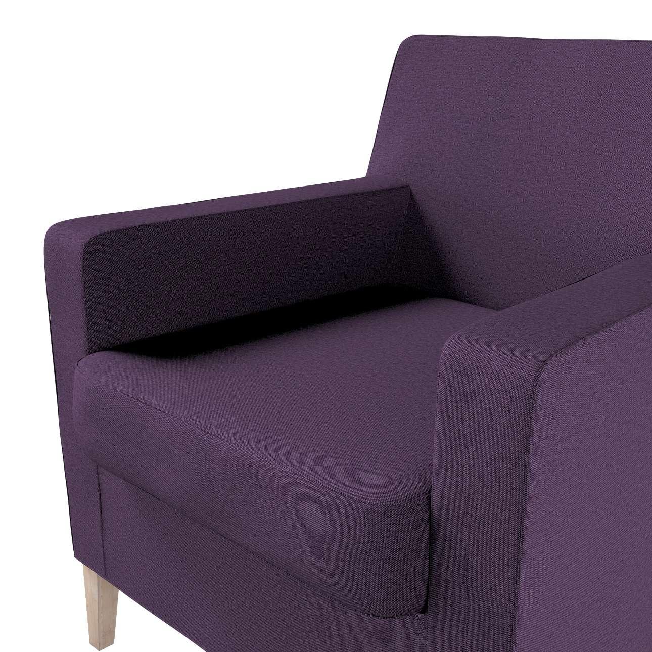 Pokrowiec na fotel Karlstad w kolekcji Etna, tkanina: 161-27