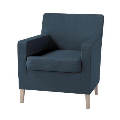 Pokrowiec na fotel Karlstad w kolekcji Etna, tkanina: 705-30