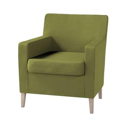 Pokrowiec na fotel Karlstad w kolekcji Living, tkanina: 161-13