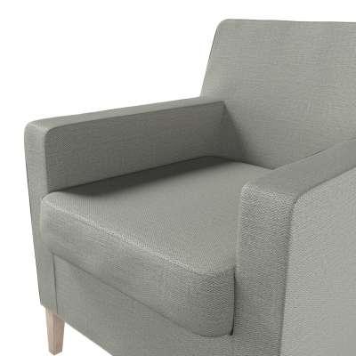 Pokrowiec na fotel Karlstad w kolekcji Bergen, tkanina: 161-83