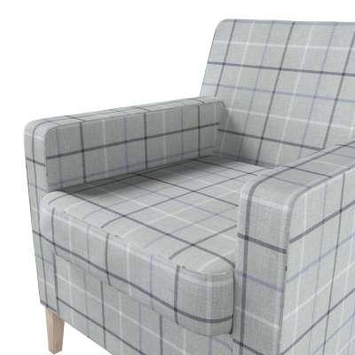 Pokrowiec na fotel Karlstad w kolekcji Edinburgh, tkanina: 703-18
