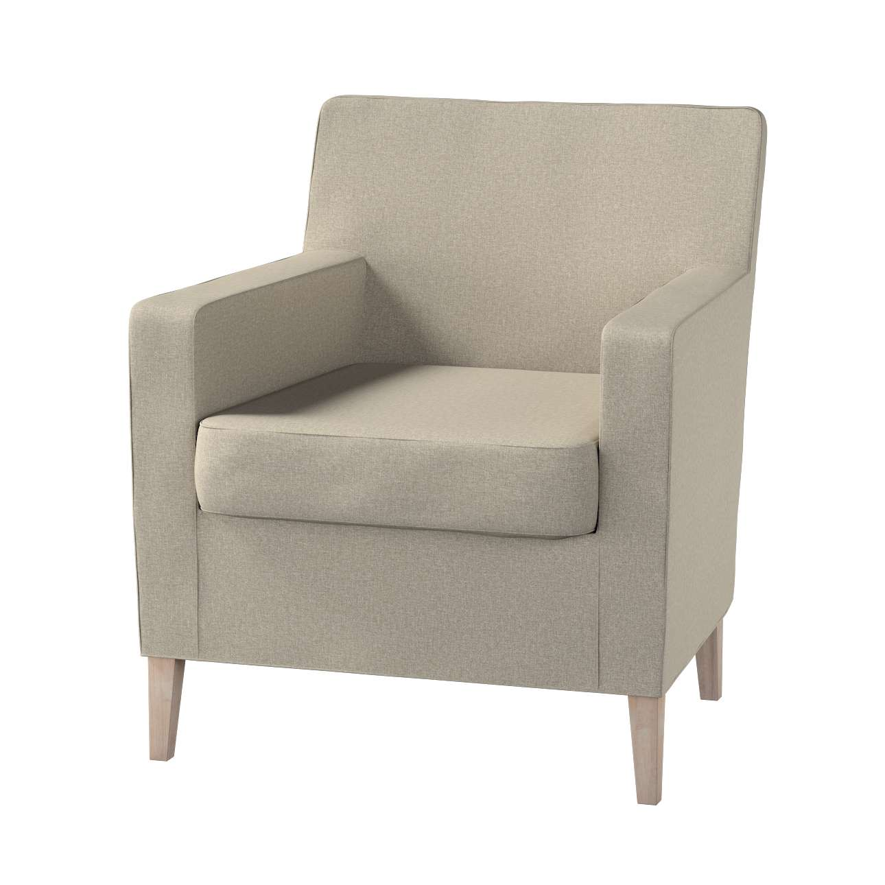 Pokrowiec na fotel Karlstad w kolekcji Amsterdam, tkanina: 704-52