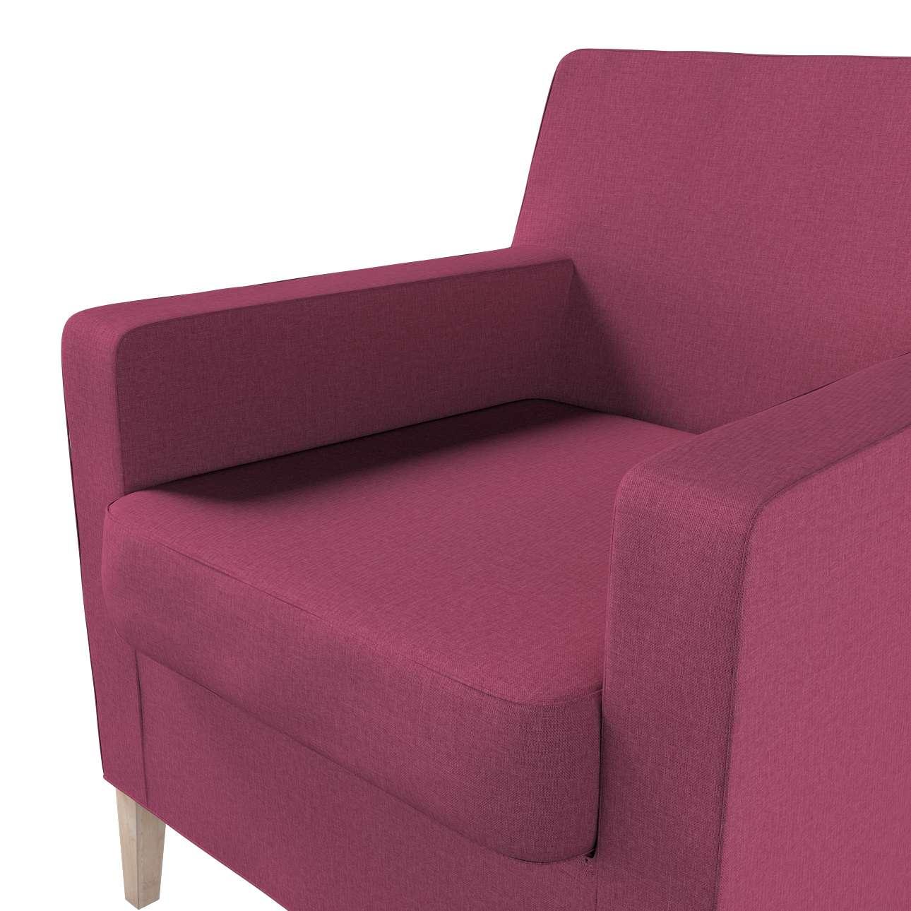 Pokrowiec na fotel Karlstad w kolekcji Living, tkanina: 160-44