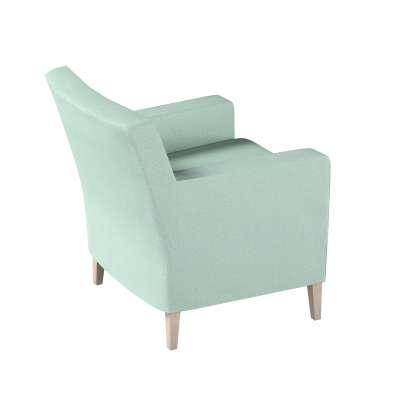 Pokrowiec na fotel Karlstad 161-61 pastelowy błękit Kolekcja Living